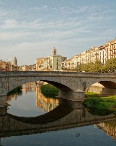 Girona river and bridge
