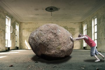work smart dont push boulders