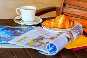 leisure breakfast in retirement