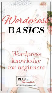 wordpress basics poster