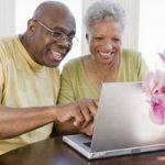 seniors learn computers
