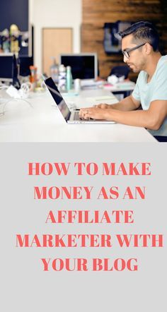 make money affiliate bloggers