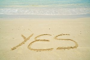 YES in sand for make money writing money at home