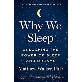 book cover why we sleep
