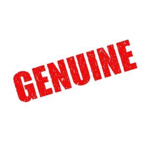 word genuine