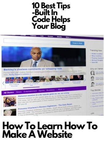 Yahoo page